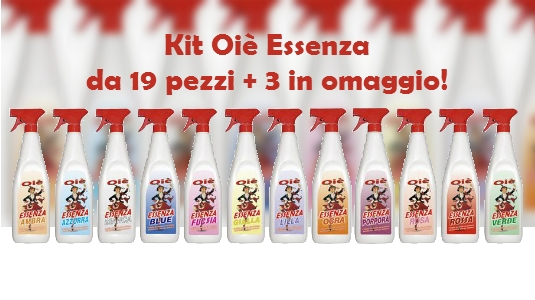 Promo Kit Oiè Essenza New